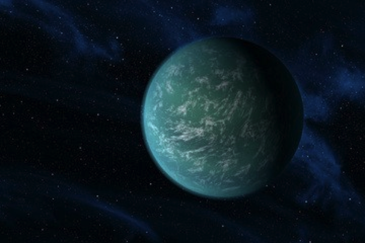 Could Kepler-22b be just right for humans?