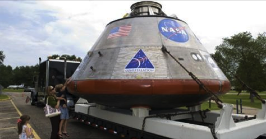 NASA 'go' for its next giant leap into space