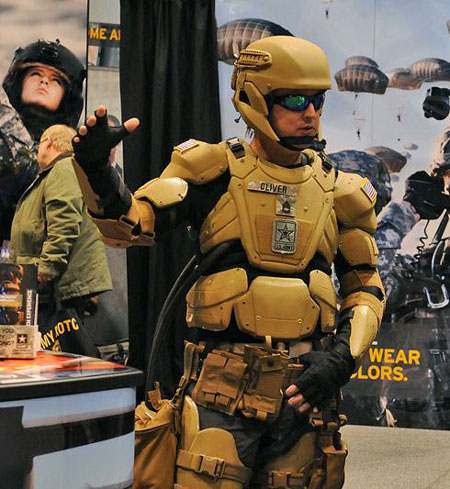 "New ""Iron Man"" Special Forces Exoskeleton Stops Bullets With Liquid Armor"